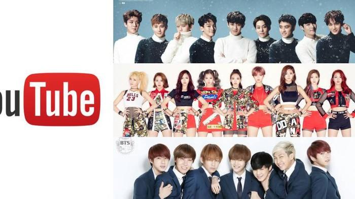 Video Musik PSY, TWICE, dan BTS Raih Penonton Terbanyak di Youtube