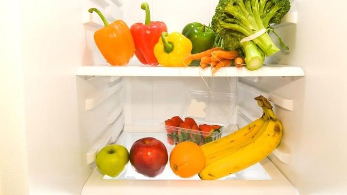 Makanan di kulkas. Foto: iStock