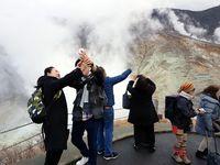 Turis di Gunung Fuji.