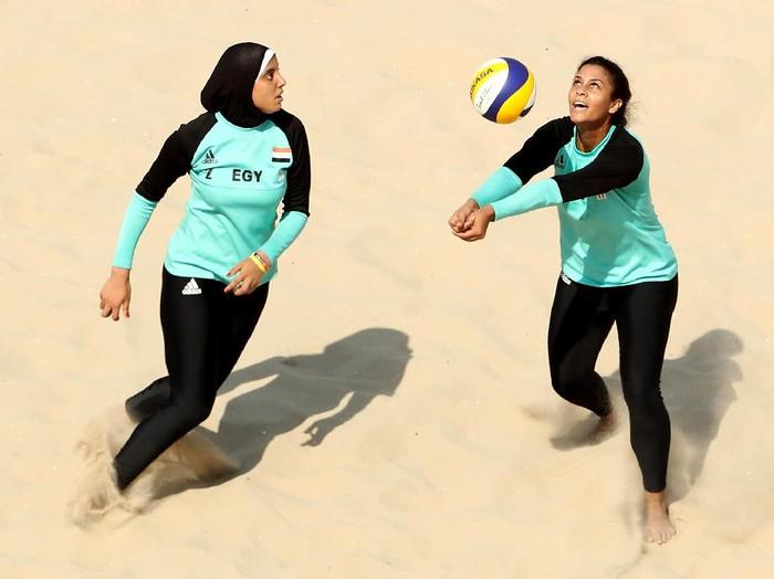 Doaa Elghobashy, atlet voli pantai Mesir