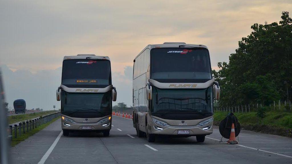 Di Jawa Baru Viral Sekarang, Bus Double Decker Sudah Ramai Duluan di Sumatra