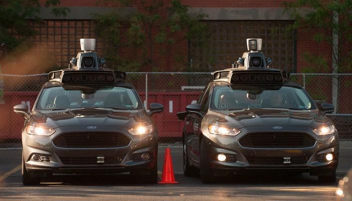 Mobil otonom Uber. Foto: Jeff Swensen - Gettyimages