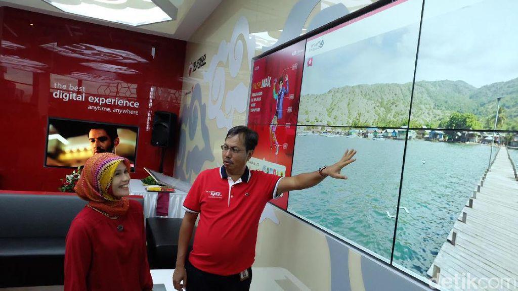 Telkomsel Pantau 48 Titik Keramaian di Jawa Barat