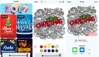 5 Aplikasi untuk Berkreasi Bikin Ucapan Natal & Tahun Baru