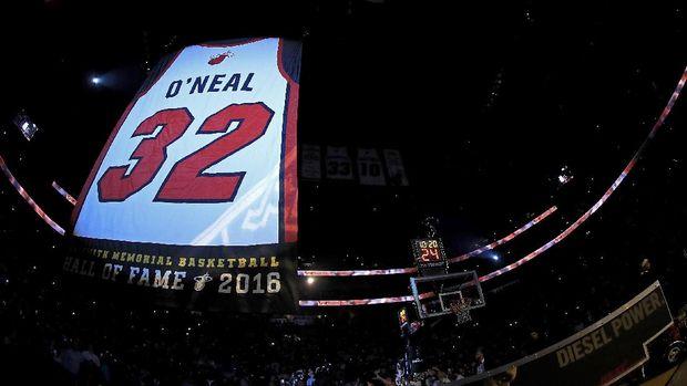 Miami Heat Pensiunkan Jersey Nomor 32 Milik O'Neal