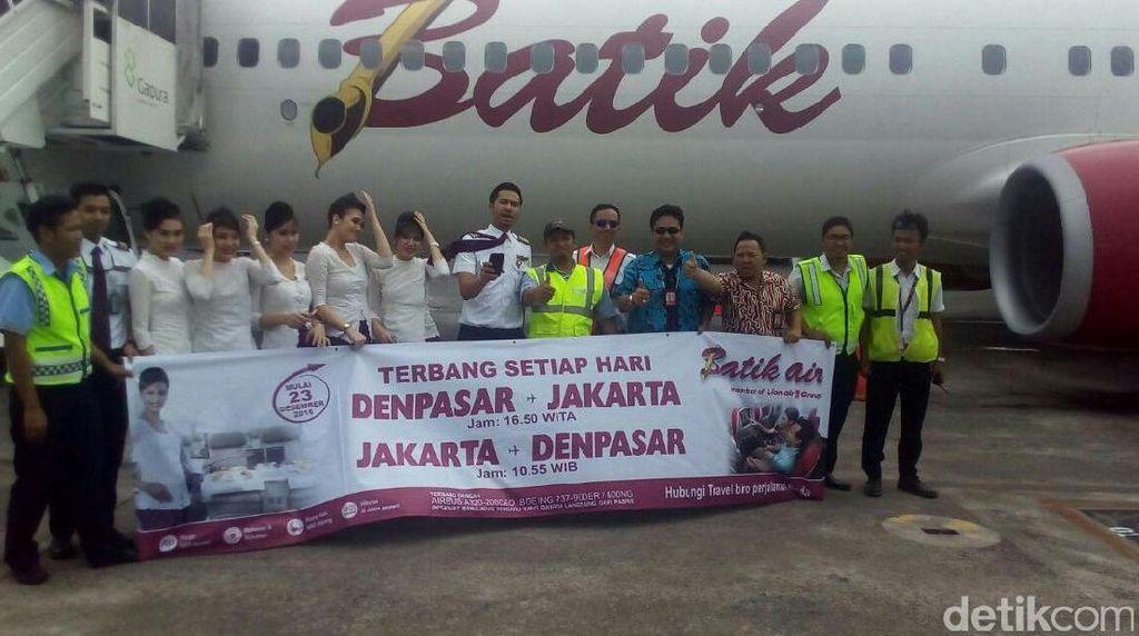 Jelang Liburan Panjang, Batik Air Buka Lagi Penerbangan ke Bali