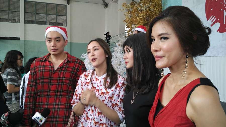 Cathy Sharon sampai Olga Lydia Gelar Makan Siang Natal