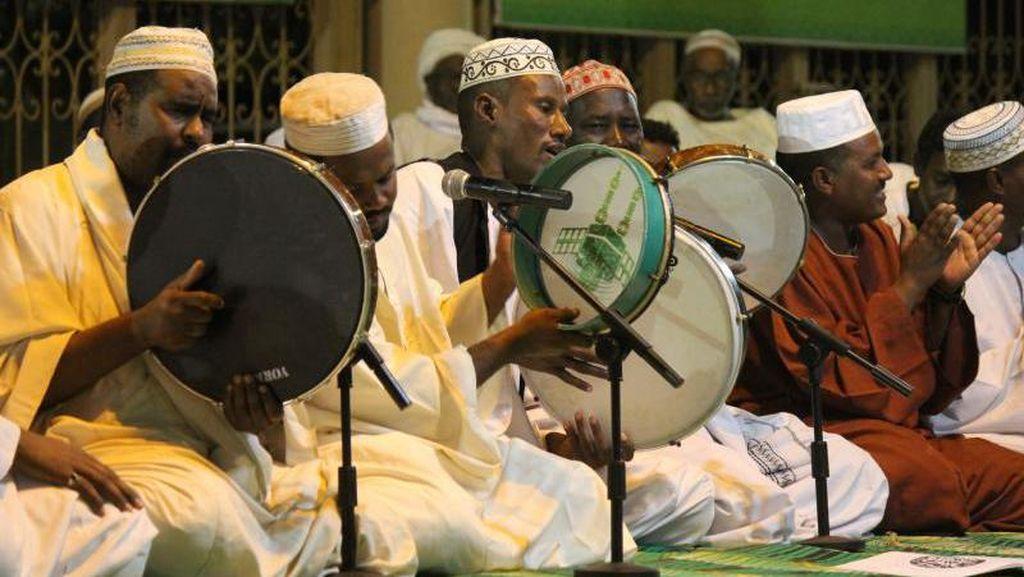 Begini Meriahnya Maulid Nabi di Negeri Sudan