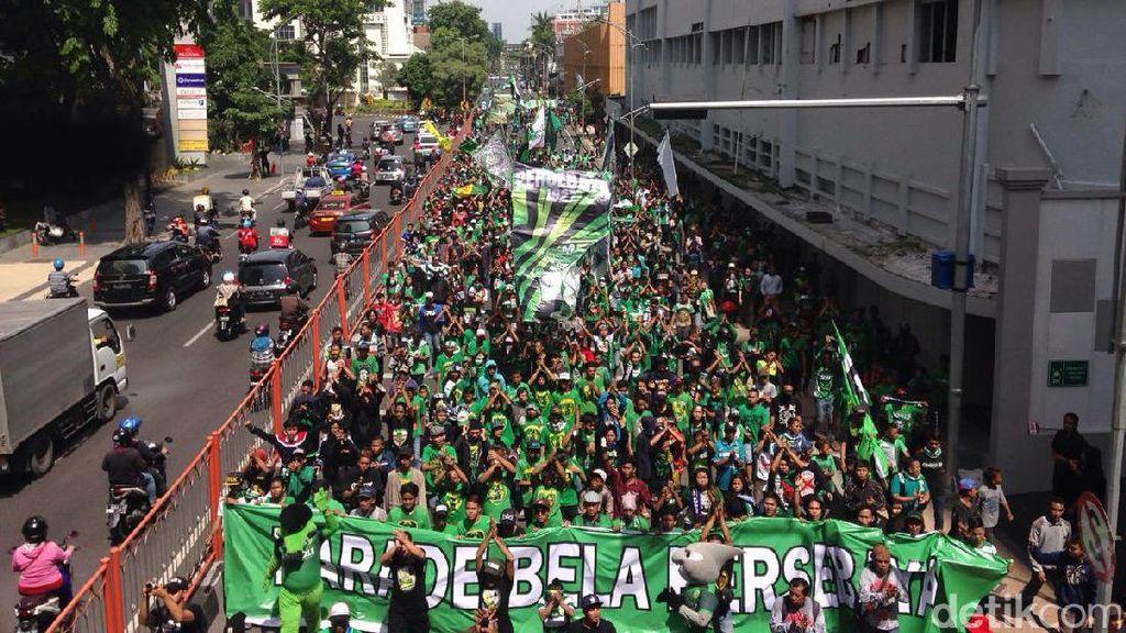 Bonek Turun ke Jalan, Gelar Parade Bela Persebaya