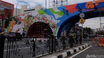 Polisi Larang Warga Bandung Rayakan Tahun Baru di Flyover