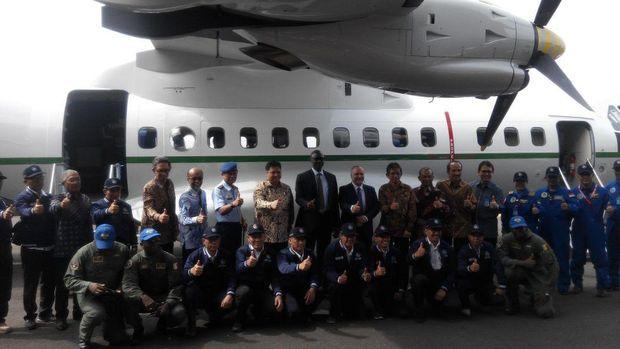 PTDI Kirim Pesawat CN235-220M Pesanan Angkatan Udara Senegal