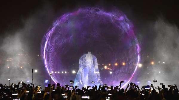 Keren!  Pertunjukan Rp 5,5 Triliun di Dubai Festival City