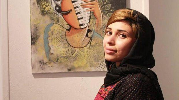 Shamsia Hassani.