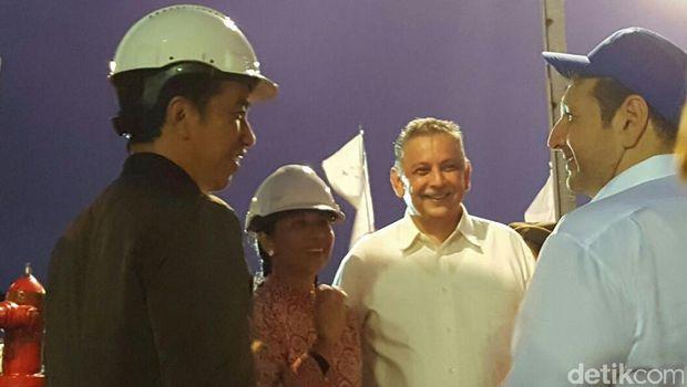 Presiden Jokowi kunjungi Kapal Listrik Apung di Kupang-NTT