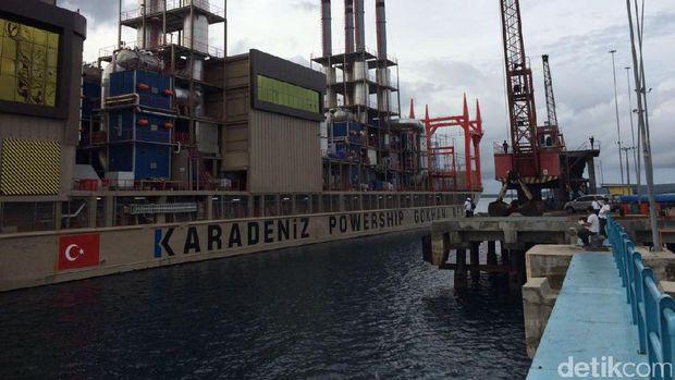 Kapal listrik apung 60 MW di Kupang-NTT