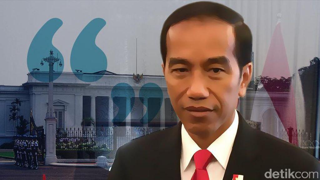 Konsolidasi Jokowi di Tahun Monyet Api