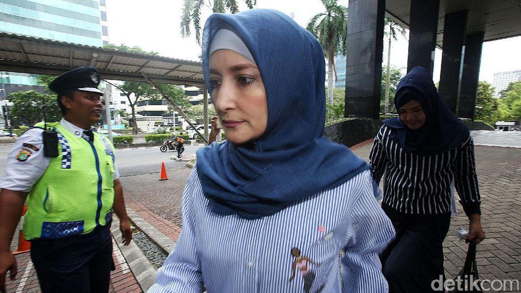 Ini Kronologi Inneke Koesherawati Ikut Diamankan KPK