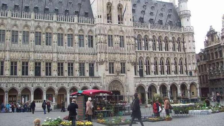Kota tua Brussels