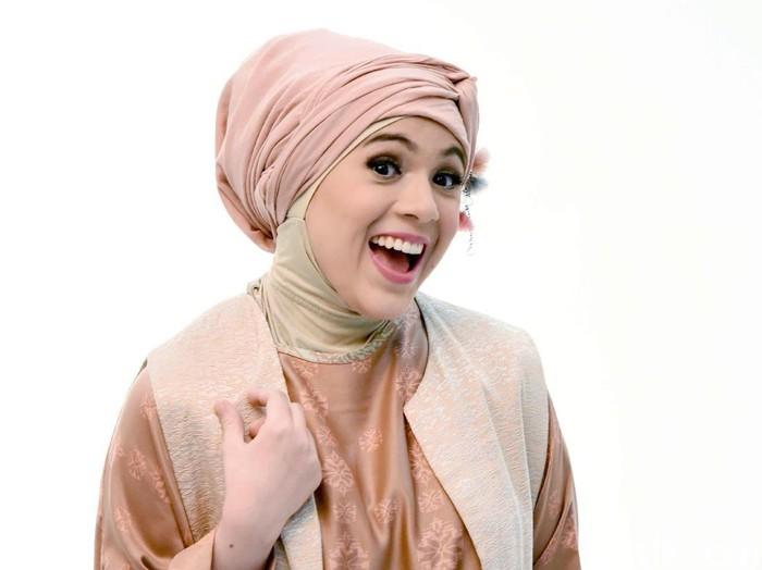 Nycta Gina, juri audisi Sunsilk Hijab Hunt 2019 di kota Padang. Foto: Noel/detikHOT