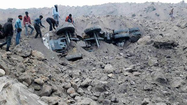 Tambang Batu Bara India Dilanda Longsor, 9 Orang Tewas