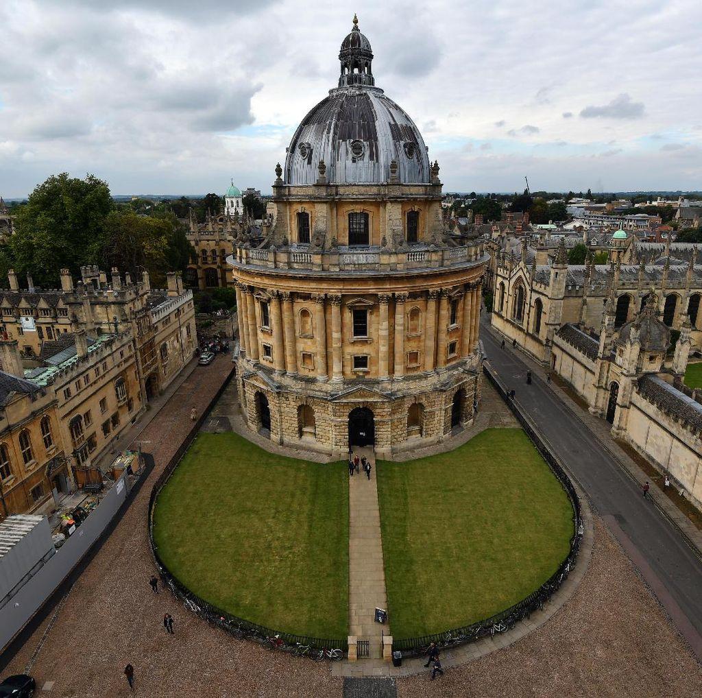 Universitas Oxford Setop Terima Dana dari Huawei