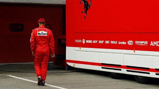 Michael Schumacher punya peran besar di balik kebangkitan Ferrari.