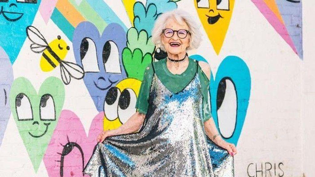 Nenek 92 Tahun Sukses Jadi Influencer, Sekali Posting Foto Dibayar Rp 129 Juta