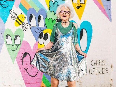 Baddie Winkle, Nenek 88 Tahun Bintang Iklan Kosmetik Urban Decay