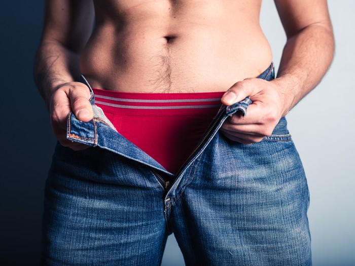 ilustrasi celan dalam pria