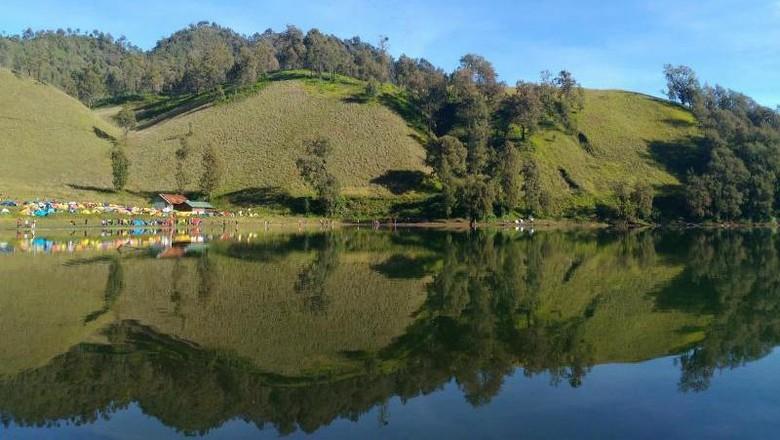 Ranu Kumbolo di Gunung Semeru (Hailani Masita/dTraveler)