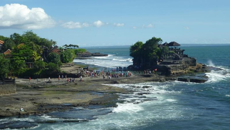 Pura Tanah Lot di Bali (Derid/dTraveler)