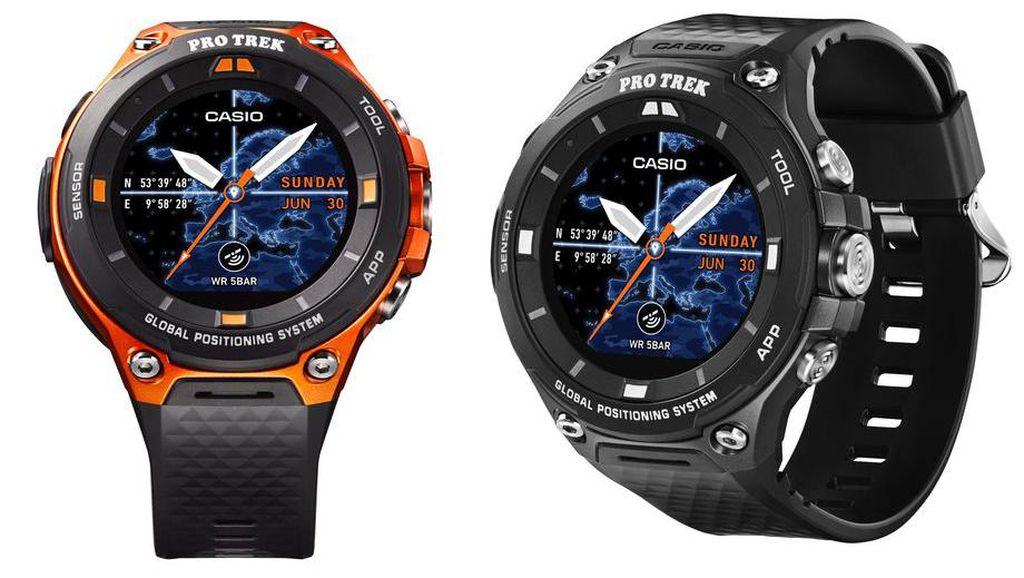 Smartwatch Anyar Casio Incar Pemburu Petualangan