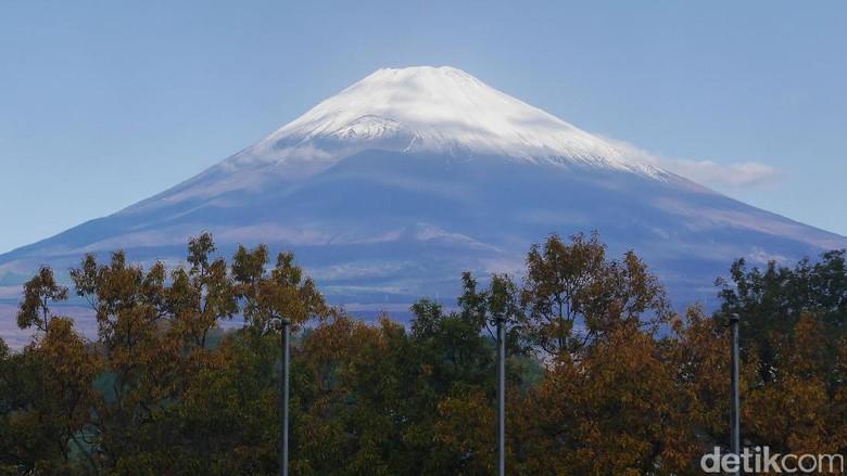 Foto: Gunung Fuji di Jepang (Kurnia/detikTravel)