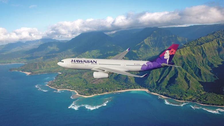 Ilustrasi maskapai Hawaiian Airlines (Hawaiian Airlines)