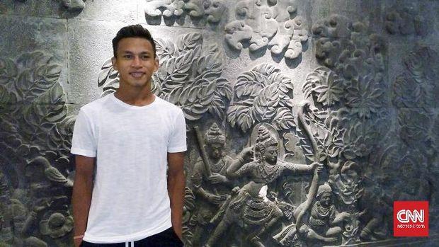 Osvaldo Haay salah satu talenta muda Persipura Jayapura yang hengkang ke Persebaya Surabaya.