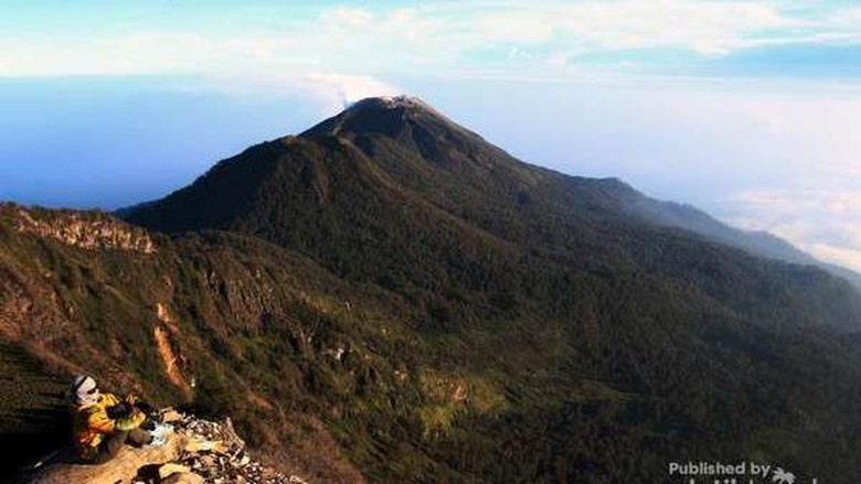 Gunung Arjuno, Jawa Timur. Foto: (Andik Setiawan/dTraveler)