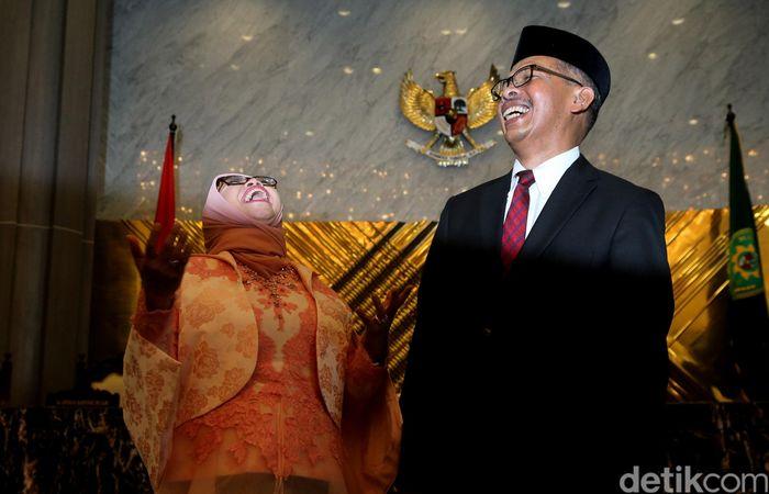 Mahkamah Agung (MA) hari ini melantik dua Deputi Gubernur Bank Indonesia (BI) baru, yakni Sugeng dan Rosmaya Hadi, menggantikan Deputi Gubernur sebelumnya, Ronald Waas dan Hendar yang telah habis masa jabatannya.
