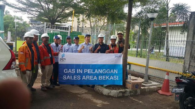 PGN Alirkan Gas ke Pemasok Suku Cadang Grup Astra