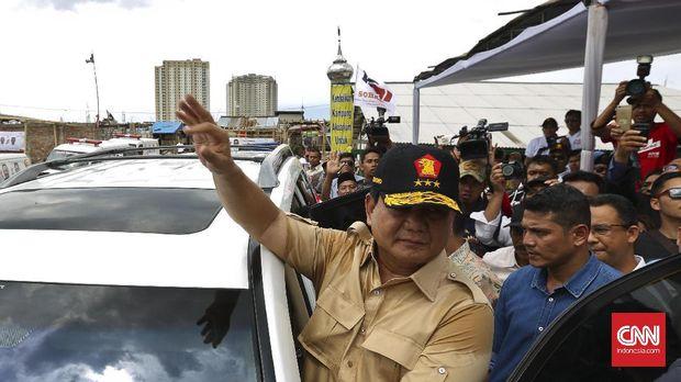 Prabowo sampaikan peringatan Indonesia Bubar 2030