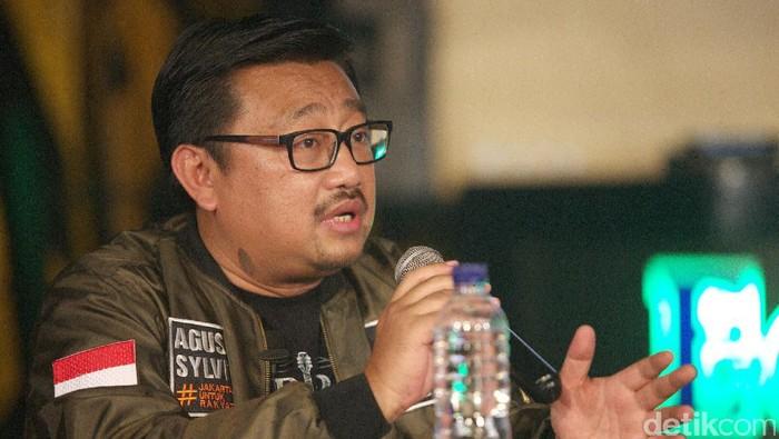 Rachland Nashidik (Agung Pambudhy/detikcom)