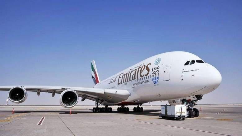 Foto: Pesawat Emirates