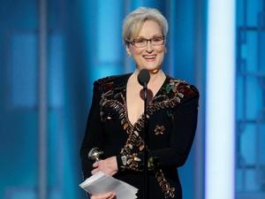 Meryl Streep Raih Lifetime Achievement dalam Golden Globe 2017
