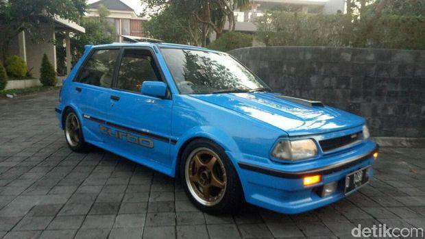 Modifikasi Toyota Starlet 1986