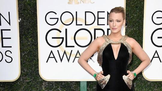 Penampilan Cantik Para Selebriti di Golden Globe 2017