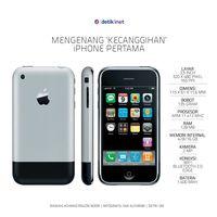 Mengenang 'Kecanggihan' iPhone Pertama