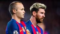 Messi atau Iniesta, Siapa yang Paling Bikin Luis Enrique Terkesan?