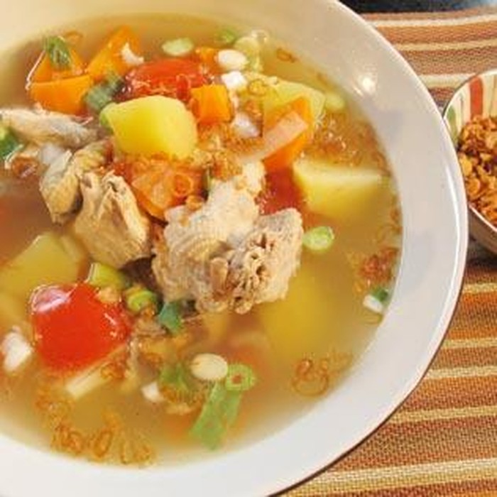 sup ayam gurih