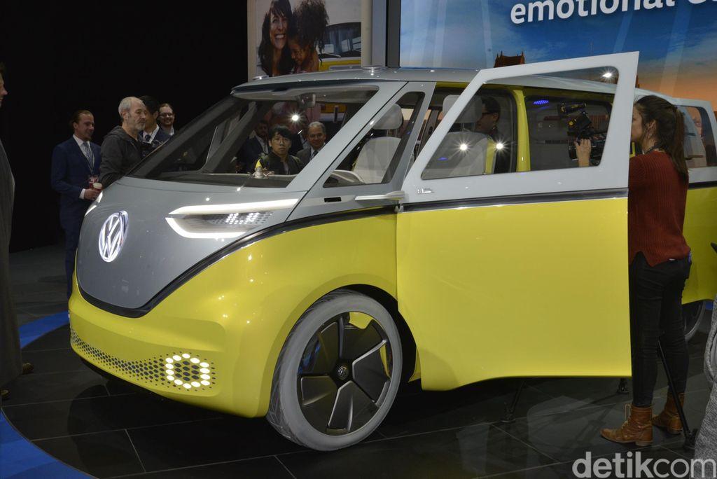 Volkswagen I.D. BUZZ diperkenalkan di Detroit Motor Show 2017