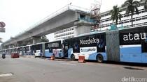 Bus Kopaja Terintegrasi TransJakarta Terbakar karena Masalah AC
