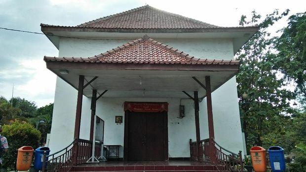 Penampakan Gereja Tugu di Kampung Tugu, Jakarta Utara